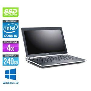 ORDINATEUR PORTABLE Pc portable Dell E6220 - Core i5 - 4Go - 240Go SSD