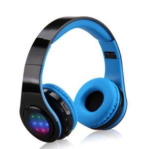 OREILLETTE BLUETOOTH Casque Bluetooth Sans Fil Excelvan Ecouteurs LED S