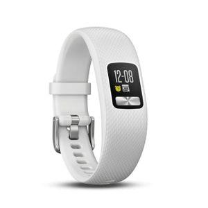 BRACELET D'ACTIVITÉ GARMIN Bracelet d'activité Vivofit 4 - Blanc - Tai
