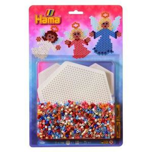 JEU DE PERLE Á REPASSER Kit de perles Hama midi : Anges
