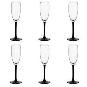 Coupe à Champagne Lot De 6 Flûtes à Champagne
