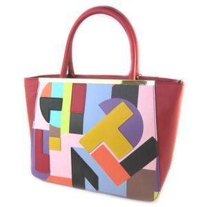 7d6897919078c Sac créateur  Ted lapidus  rouge multicolore...  P0497  - Achat ...