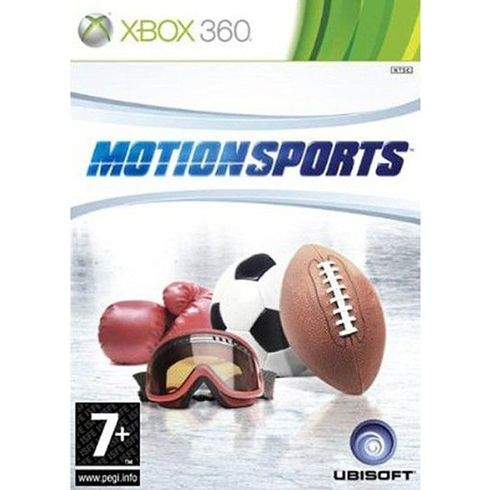 motion sports kinect jeu console xbox360 achat vente. Black Bedroom Furniture Sets. Home Design Ideas