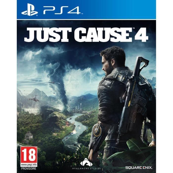 JEU PS4 Just Cause 4 JeuPS4