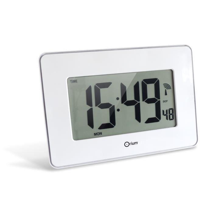 RC SENSITIVE Horloge digitale 28x19,5 cm blanc et noir - Achat ...
