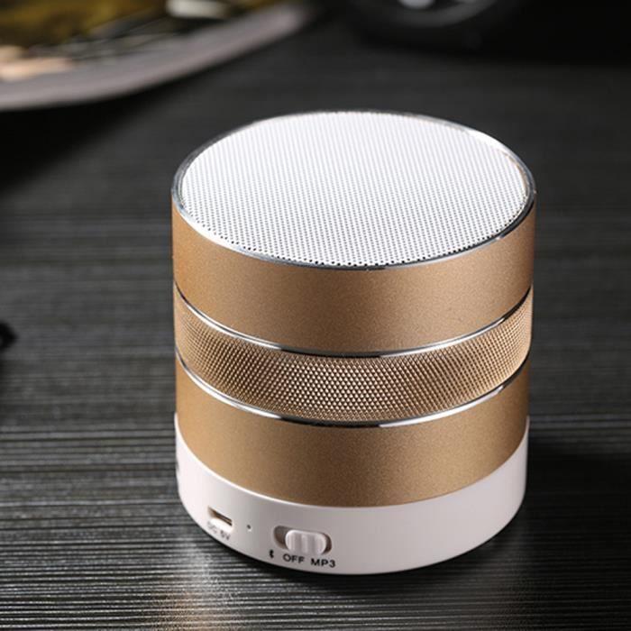 Portable Mini Tf Stéréo Sans Fil Bluetooth Haut-parleur Pour Iphone Tablet Pc Fm V61