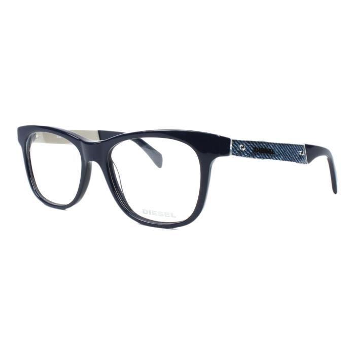 Lunettes de vue Diesel DL5078 -92 Bleu Bleu - Achat   Vente lunettes ... 827659b4455d