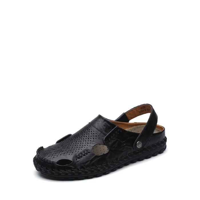 Hommes Chaussons Respirant Design fermé Antiskiding Toe Sandales fraîches 4892898 5vr0J
