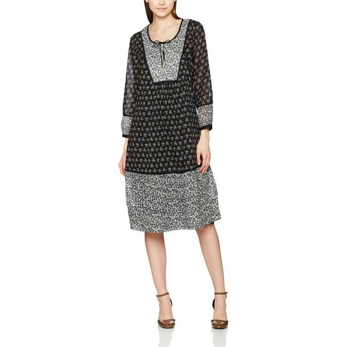 Noa Noa Breezy Robe de femmes Voile 2QNNXW Taille-38