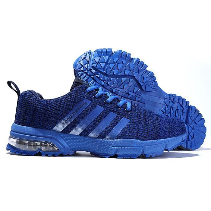 Homme Sport Baskets Air Femme Chaussures De Bleu Mixte dn5HHwYq