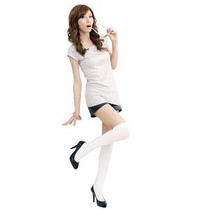chaussette haute femme achat vente chaussette haute. Black Bedroom Furniture Sets. Home Design Ideas