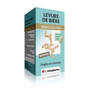 LEVURE ARKOGELULES LEVURE DE BIERE ARKOPHARMA 45 GELULES