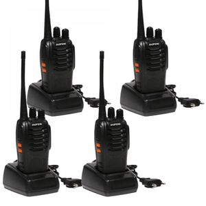 TALKIE-WALKIE 4 Pcs/Lot Double Sens Radio Baofeng Bf - Talkie Wa