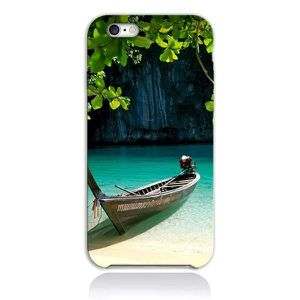 BARQUE DE PÊCHE Coque iPhone 7 Plus - Barque Eau Douce