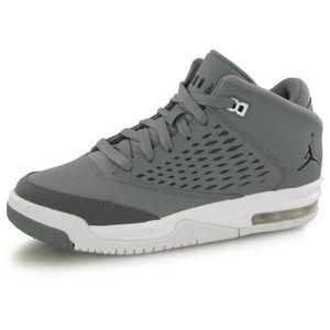 CHAUSSURES BASKET-BALL Nike Air Jordan Flight Origin 4 gris, chaussures d