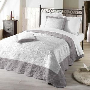 couvre lit grande largeur achat vente couvre lit grande largeur pas cher cdiscount. Black Bedroom Furniture Sets. Home Design Ideas