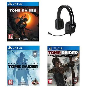 JEU PS4 Shadow of the Tomb Raider + Rise of the Tomb Raide