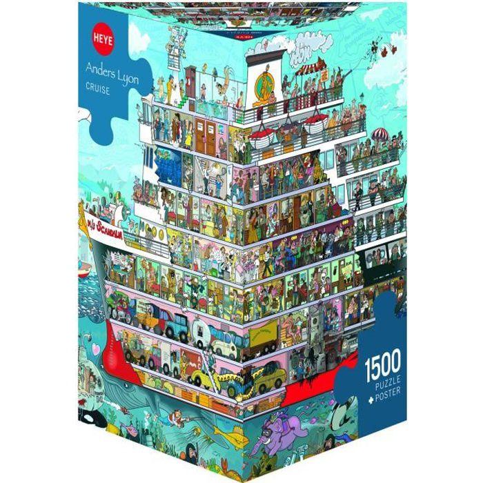 MERCIER Puzzle 1500 pièces Cruise - 60 x 80 cm