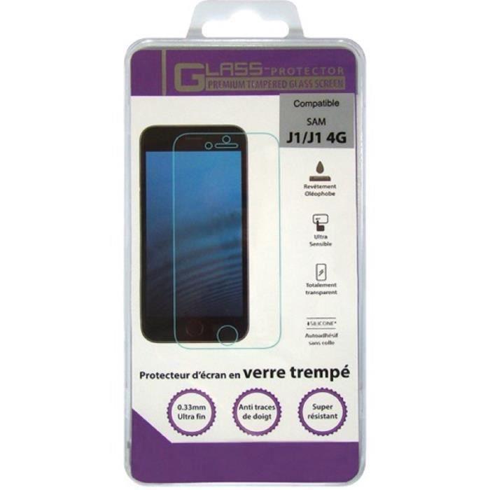 OMENEX Film écran en verre trempé Samsung Galaxy J1