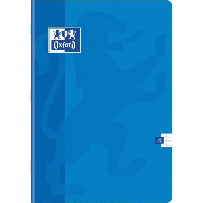 OXFORD Cahiers Color Life A4 Seyes - Bleu
