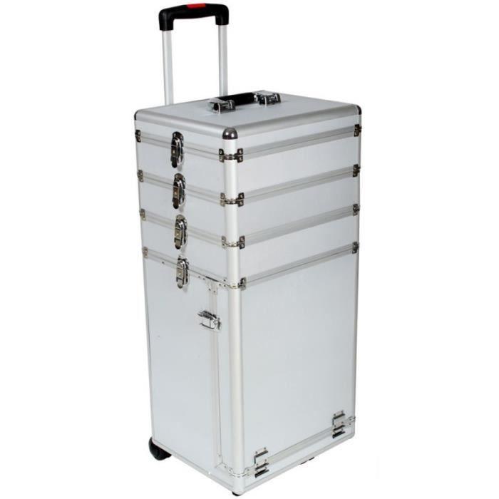 mallette trolley roulette valise esth tique coiffure. Black Bedroom Furniture Sets. Home Design Ideas