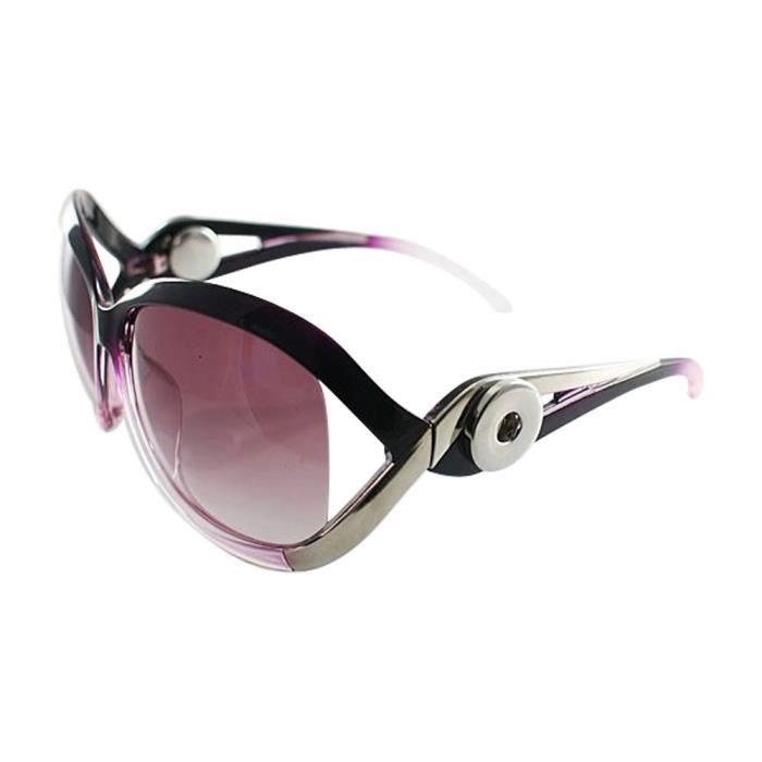 Bouton clic lunettes de soleil