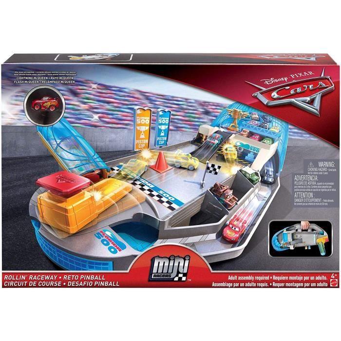 Jeu 45 5 Mini X 30 Circuit Disney Flipper Pixar Vehicules Et 6 Ans Cars Enfants Plus 8 Voitures 4 Cm 7 ED29WHYI