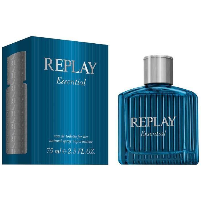 Une Lui Famille Woody Parfum De Essential Pour Est Replay 4R35ALj