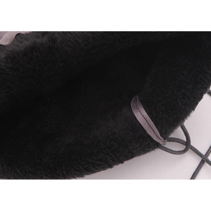 Femmes Chaussures Garniture Plates Boucle Haut Genou dessus Au Xmm71009532bk38 Noir Pilerty®mesdames Slim Du Bottes PqdA8wPaU