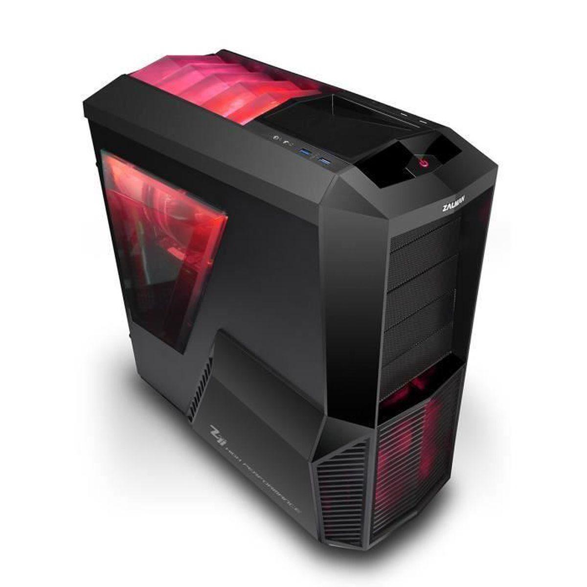 PC Gamer I5-9600K - GeForce RTX 2070 8GO - 16GO RAM - SSD 240GO - WIFI -  Zalman Z11 Plus HF1 - Windows 10