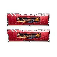 MÉMOIRE RAM G.Skill RipJaws 4 Series Rouge 8 Go (2x 4 Go) DDR4