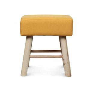 Table basse jaune achat vente pas cher cdiscount for Table basse scandinave jaune