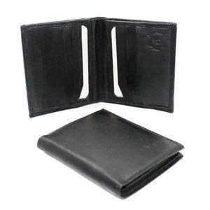 136d126f88 Portefeuille homme cuir noir 14 cm x 10 cm - Achat / Vente pas cher