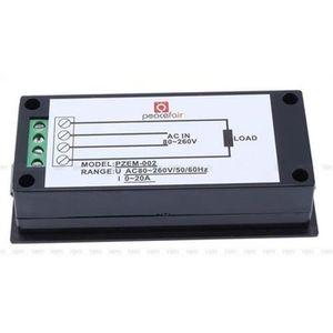 MULTIMÈTRE AC LED Digital Ampèremètre Wattmètre Tension KWh M