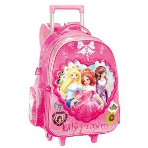 CARTABLE Nouveaux enfants cartable à roulettes sac à dos éc