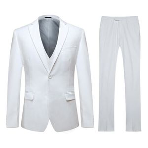 COSTUME - TAILLEUR (Veste+gilet+Pantalon)Costume 3pièces pour Homme c ... ba49d780b7e