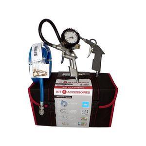 COMPRESSEUR Kit 7 accessoires - valise