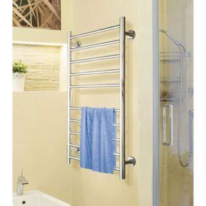seche serviette electrique chrome achat vente pas cher. Black Bedroom Furniture Sets. Home Design Ideas