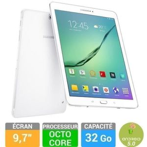 TABLETTE TACTILE Samsung Galaxy Tab S2 9,7'' 32 Go Blanche SM-T810N