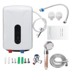 CHAUFFE-EAU 5.5KW Instantané Chauffe-eau Thermostaté Electriqu