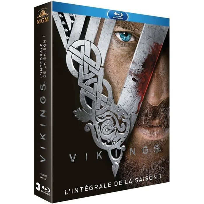 VIKINGS SAISON 1 - COFFRET 3 BLURAY