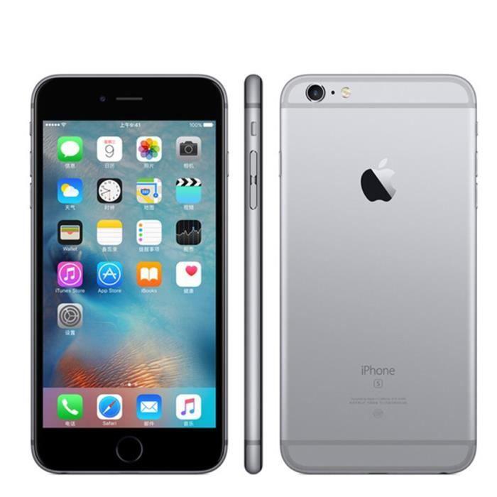 d29df5af162019 Smartphone iPhone 6S plus 32GO gris débloqué Grade A+++ remise à ...