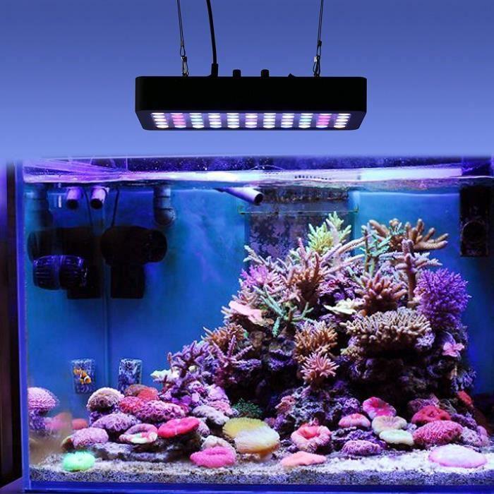 165w De Aquarium Lumière Spectrerécif Marin Dimmable Lampe Led Plein QeWoxrdCB