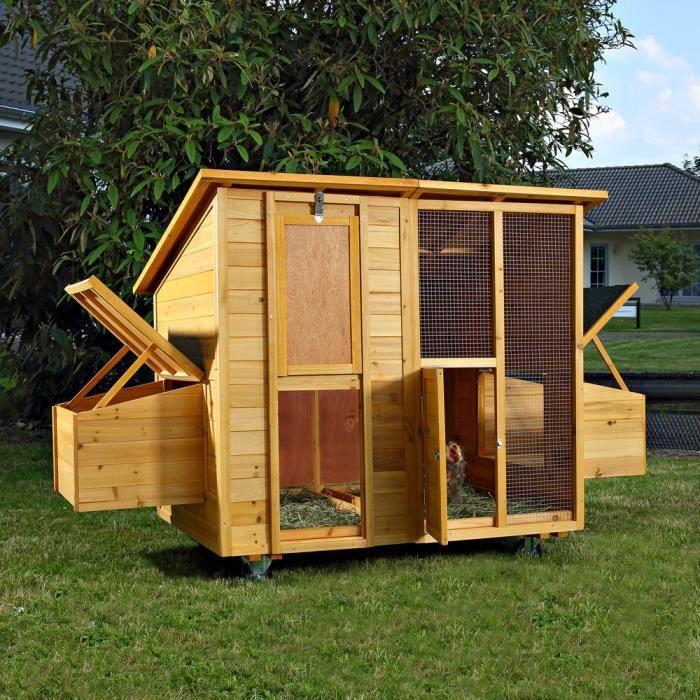 poulailler clapier parc enclos pour lapin poules rongeur mark 214 cm achat vente poulailler. Black Bedroom Furniture Sets. Home Design Ideas