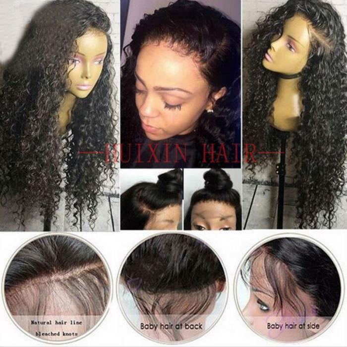 perruque femme cheveux naturel lace wig