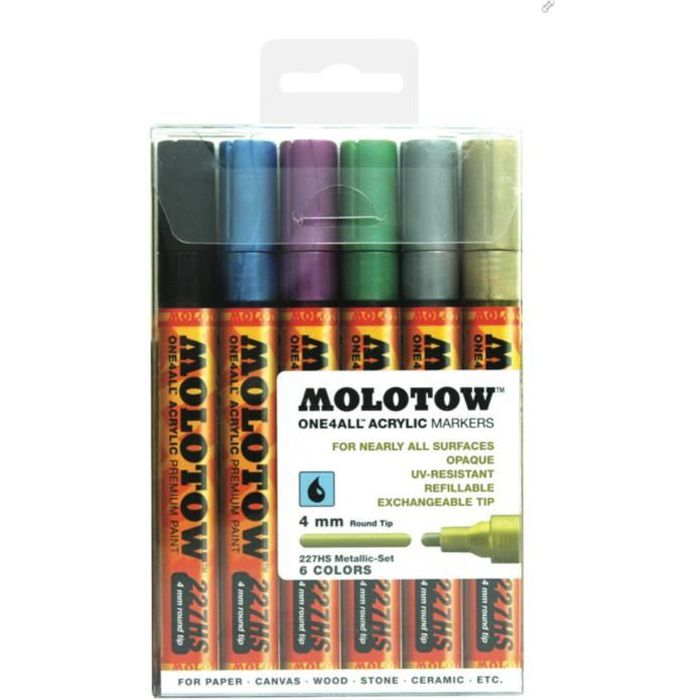 Awesome FEUTRES MOLOTOW ONE 4 ALL MARKER MARQUEUR ART GRAFFITI BO