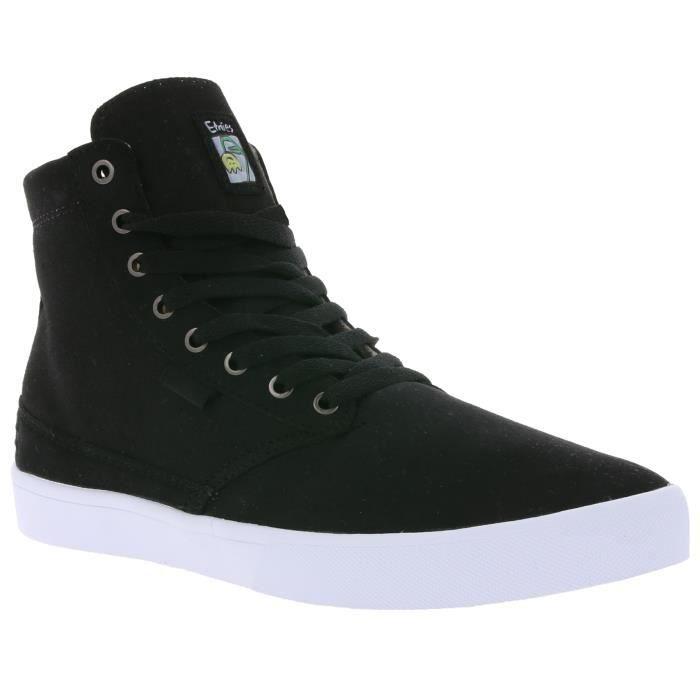 Etnies Jameson High Top Sneaker Homme Noir à partir de matériel végétalien