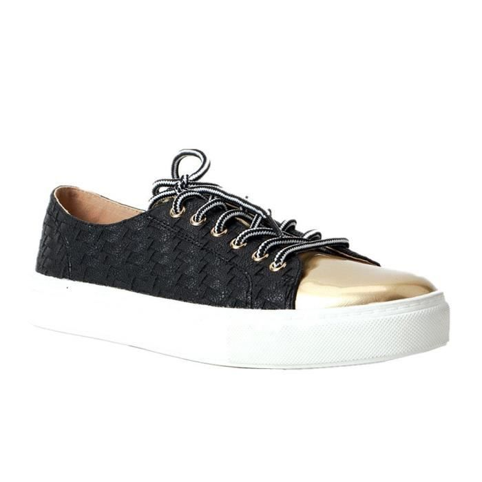 Comfy Woven Lace Up Loafers Shoes Mixed Color Footwear OKENL Taille-41 iWkIUp