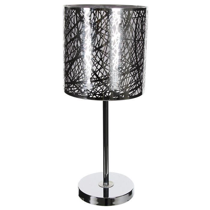Lampe Pied Inox 49 Cm Achat Vente Lampe Pied Inox 49 Cm Cdiscount