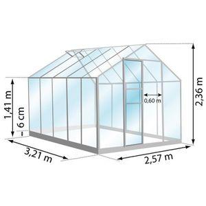 Serre de jardin en verre - Achat / Vente Serre de jardin en verre ...